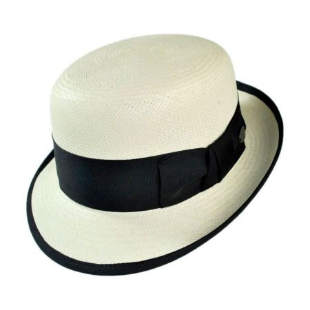 Chaplin Panama Straw Bowler Hat alternate view 7