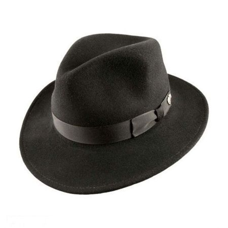 Curtis Wool Felt Safari Fedora Hat alternate view 14