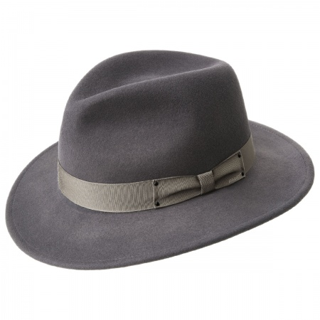 Curtis Wool Felt Safari Fedora Hat alternate view 16