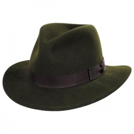 Curtis Wool Felt Safari Fedora Hat alternate view 14