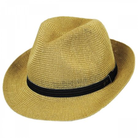 Elliot Straw Fedora Hat alternate view 1