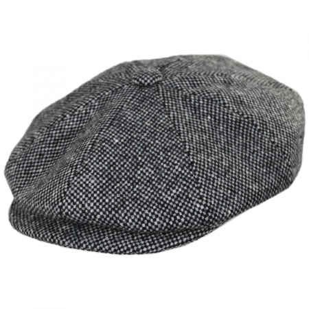 Bailey Galvin Wool Tweed Newsboy Cap