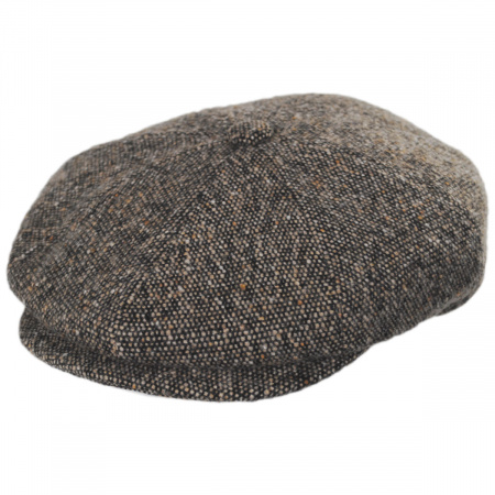Galvin Wool Tweed Newsboy Cap alternate view 13