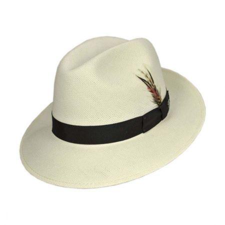 Hanson Shantung LiteStraw Fedora Hat