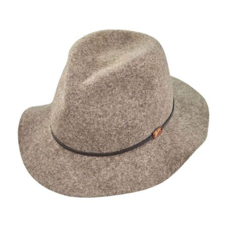 Bailey Jackman Packable Wool Felt Fedora Hat