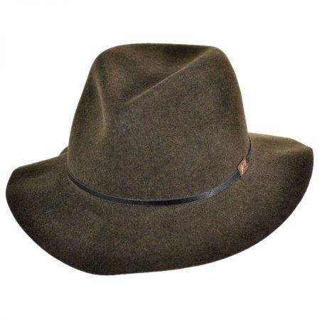 Jackman Packable Wool Felt Fedora Hat