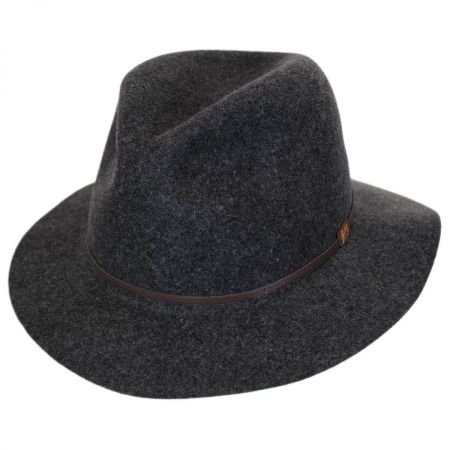 Jackman Packable Wool LiteFelt Fedora Hat alternate view 32