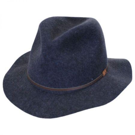 Bailey Jackman Rollable Wool LiteFelt Fedora Hat