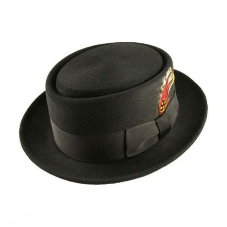 Bailey Jett Pork Pie Hat