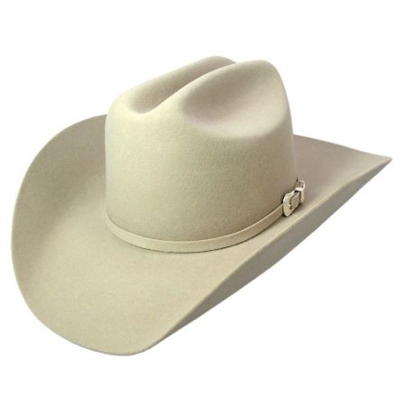 Lightning Wool and Angora Felt Cowboy Hat - Bone alternate view 3