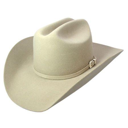Lightning Wool and Angora Felt Cowboy Hat - Bone alternate view 4