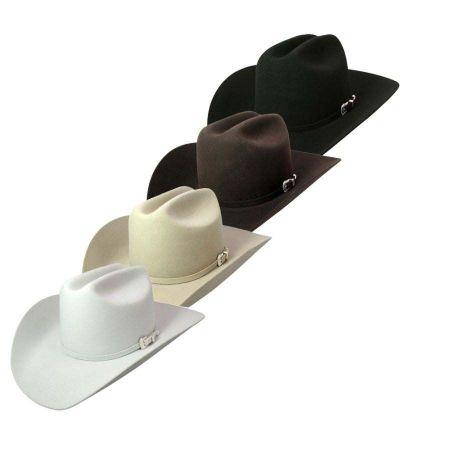 Lightning Wool and Angora Felt Cowboy Hat - Bone alternate view 6
