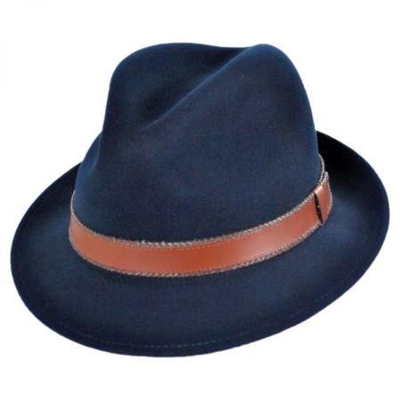 Perry Lanolux Wool Felt Fedora Hat alternate view 1