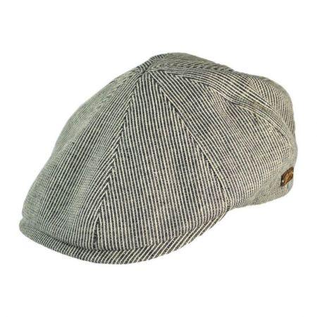 Bailey Redford Pinstripe Cotton Duckbill Ivy Cap