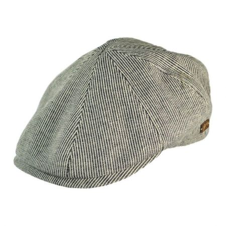 Bailey Redford Pinstripe Cotton Duckbill Ivy Cap