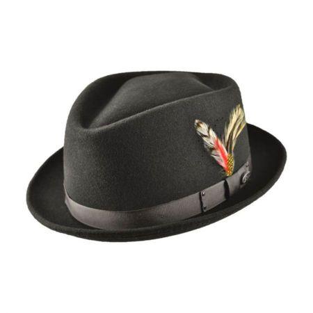 Bailey Silko Wool Felt Trilby Fedora Hat