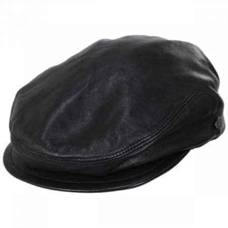 Bailey Stockton Leather Ivy Cap