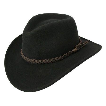 Switchback Crushable Wool LiteFelt Aussie Hat alternate view 7