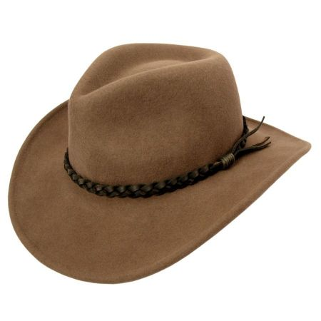 Switchback Crushable Wool LiteFelt Aussie Hat alternate view 8