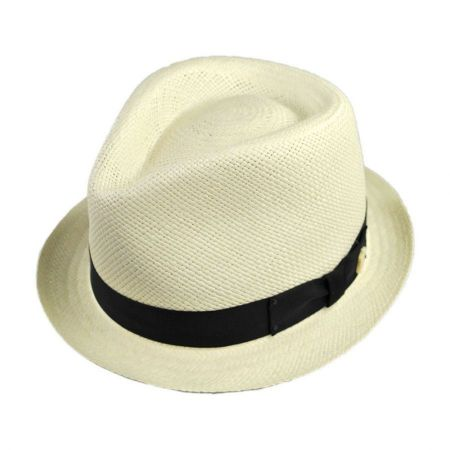 Sydney Panama Straw Fedora Hat alternate view 12