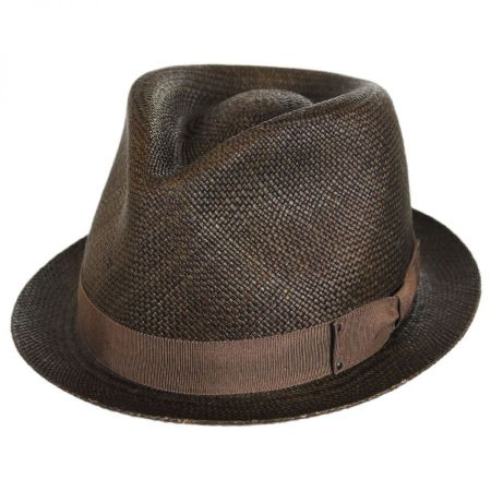 Sydney Panama Straw Fedora Hat alternate view 12