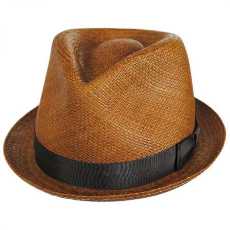 Sydney Panama Straw Fedora Hat alternate view 18
