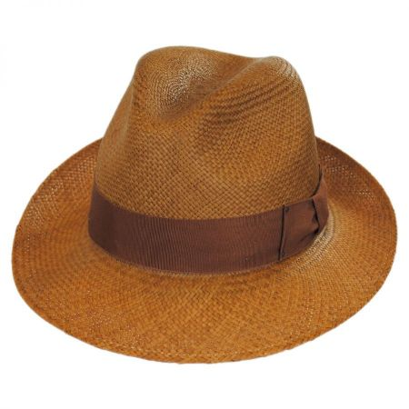 Thurman Panama Straw Fedora Hat alternate view 7