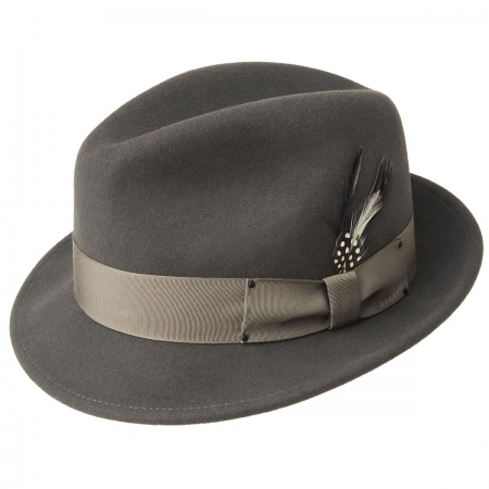Grey Trilby at Village Hat Shop b2054f149cd