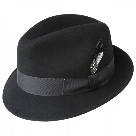 Tino Wool Felt Trilby Fedora Hat alternate view 4