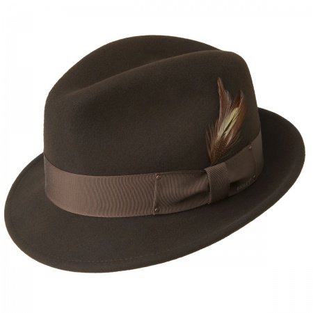 Tino Wool Felt Trilby Fedora Hat alternate view 11