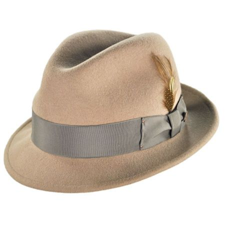 Tino Wool Felt Trilby Fedora Hat alternate view 24