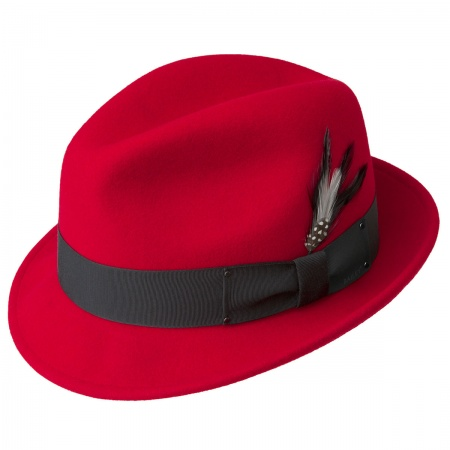 Tino Wool Felt Trilby Fedora Hat alternate view 87