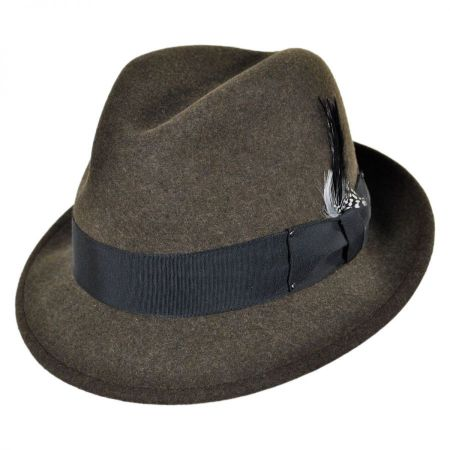 Tino Wool Felt Trilby Fedora Hat alternate view 92