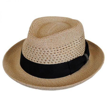 Wilshire Toyo Braid Straw Fedora Hat alternate view 15