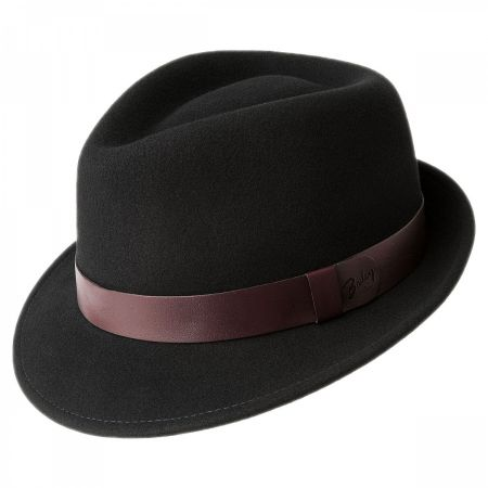 Yates Wool LiteFelt Trilby Fedora Hat alternate view 6