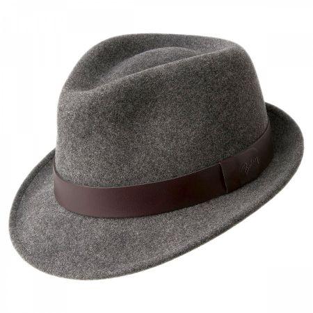 9c462fc1052 Grey Wool Fedora at Village Hat Shop