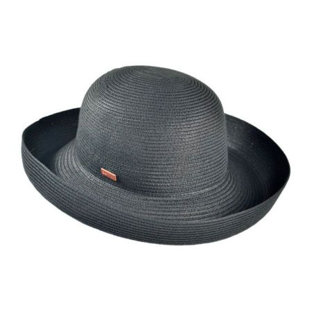 Classic Toyo Straw Roll Up Sun Hat alternate view 1
