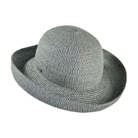 Classic Toyo Straw Roll Up Sun Hat alternate view 2