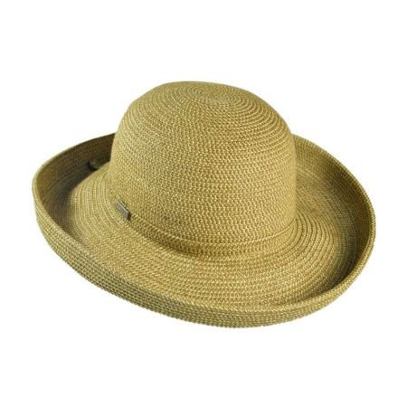 Betmar Classic Toyo Straw Roll Up Sun Hat