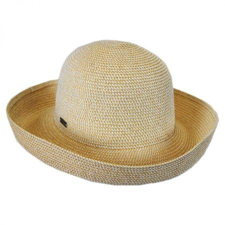 Betmar Classic Toyo Straw Roll Up Sun Hat