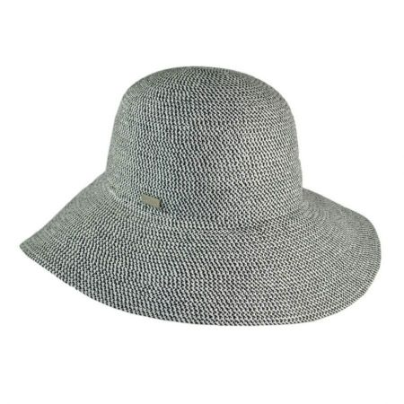 Betmar Gossamer Packable Straw Sun Hat