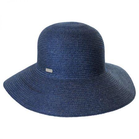 Betmar Gossamer Packable Straw Sun Hat