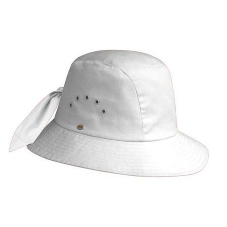 54fa0d72 White Cloche at Village Hat Shop