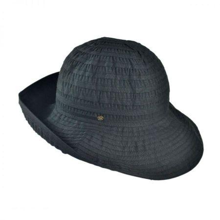 Ribbon Fabric Bretton Hat