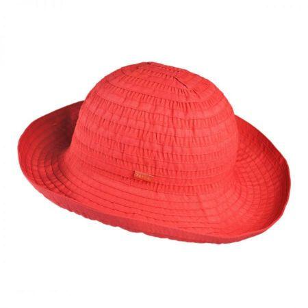 Betmar Ribbon Fabric Bretton Hat