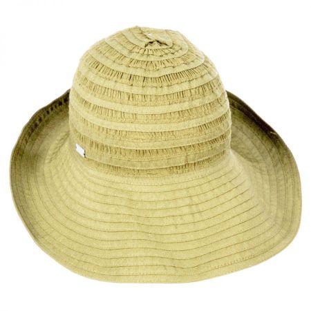 Betmar Ribbon Bretton Hat