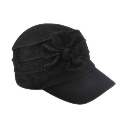 Betmar Ridge Flower Wool Newsy Cap
