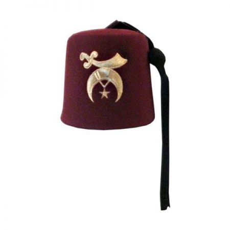 Bollman Hat Company 140 - 1870s Wool Felt Fez - Made to Order