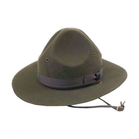 Leather Trooper Hat at Village Hat Shop ad30ba5910a