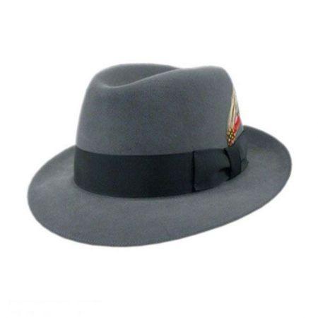 Bollman Hat Company 140 - 1930s Fur Felt Trilby Fedora Hat 448e3b59203